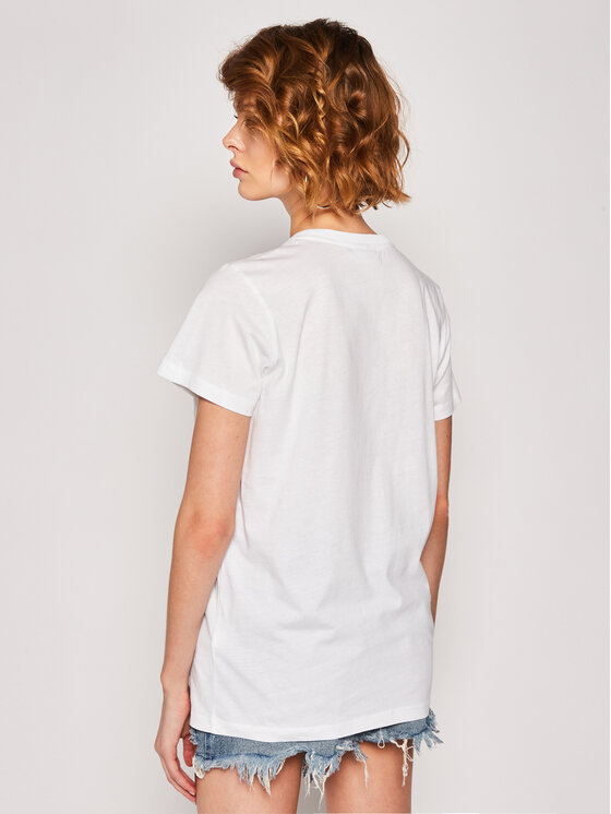 Calvin Klein Calvin Klein Marškinėliai K20K201370 Balta Regular Fit