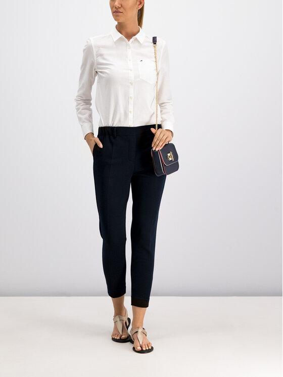 Tommy Jeans Tommy Jeans Marškiniai Tjw Original Light DW0DW04433 Balta Regular Fit
