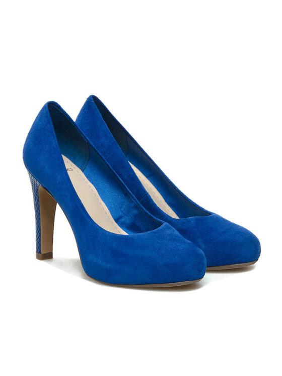 Clarks Clarks Magassarkú Carrick Tangle 20358577194 Kék