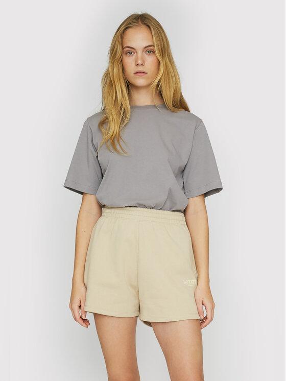 ROTATE Marškinėliai Asvera RT461 Pilka Loose Fit