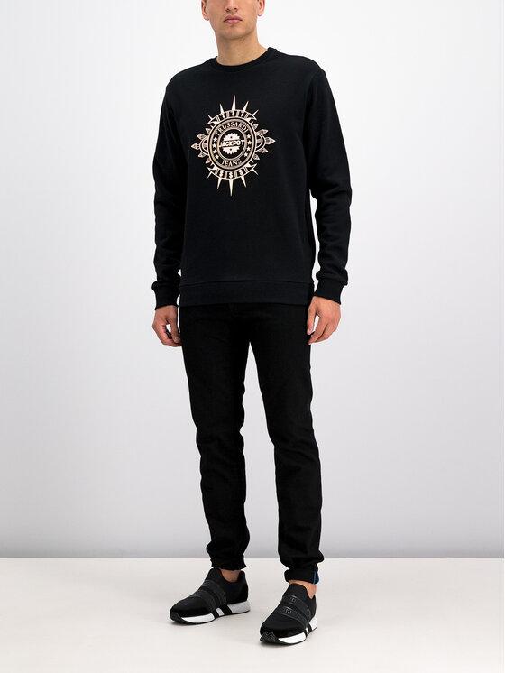 Trussardi Jeans Trussardi Jeans Pulóver 52F00076 Fekete Regular Fit