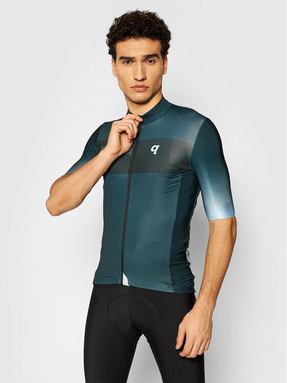 Quest Dviratininko marškinėliai Essential Žalia Comfort Fit