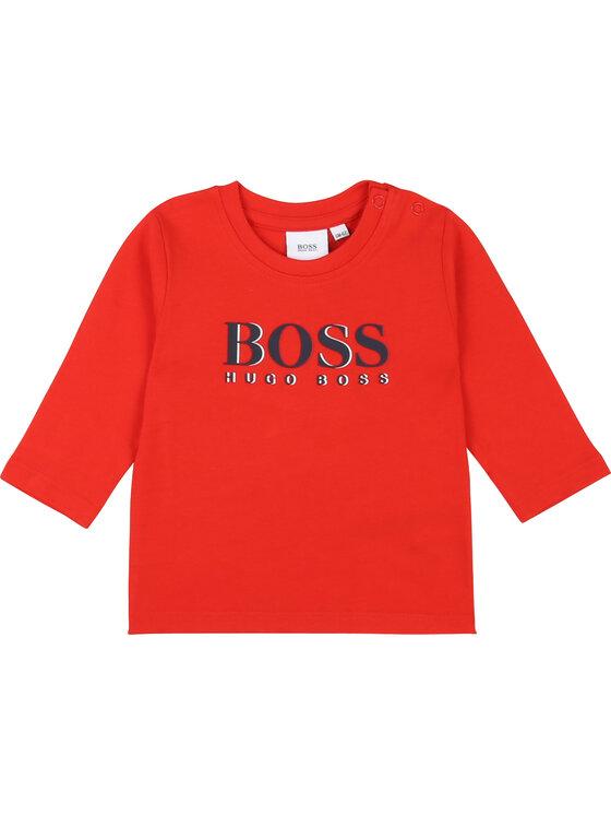 Boss Boss Chemisier J05739 D Rouge Regular Fit