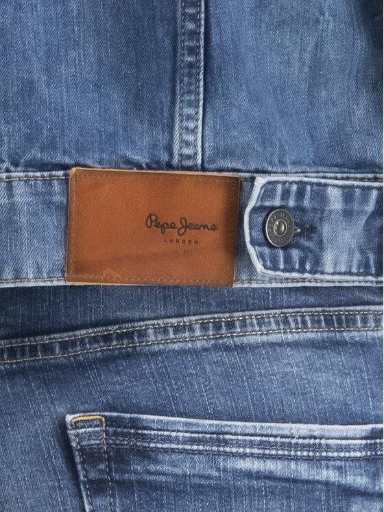 Pepe Jeans Pepe Jeans Geacă de blugi GYMDIGO Pinner PM400908 Albastru Regular Fit