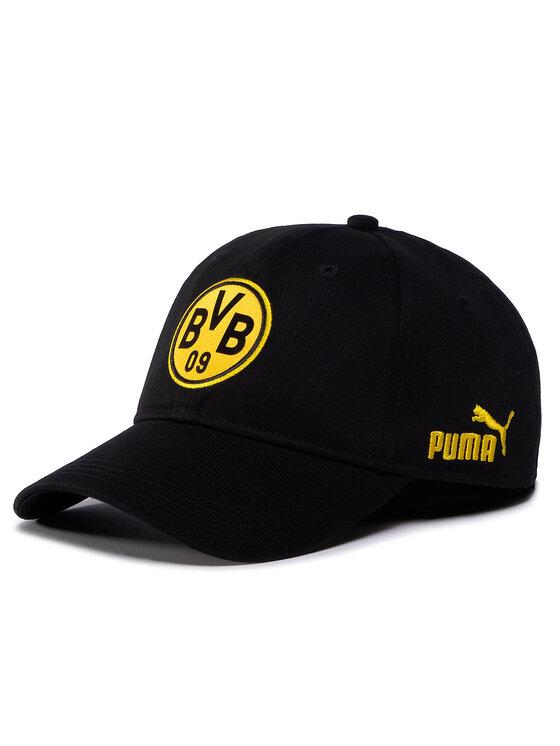 Puma Puma Czapka z daszkiem BVB FtblCulture Baseball Cap 022737 02 Czarny