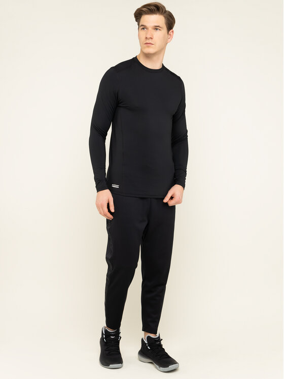 Under Armour Under Armour Felpa tecnica Ua Tactical Crew Base 1316936 Nero Fitted Fit