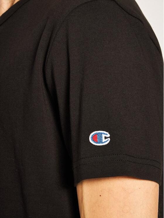 Champion Champion T-Shirt Small C Logo 214674 Czarny Custom Fit