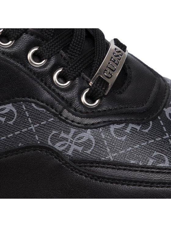 Guess Guess Sneakersy Marcus FM8MAR FAL12 Czarny
