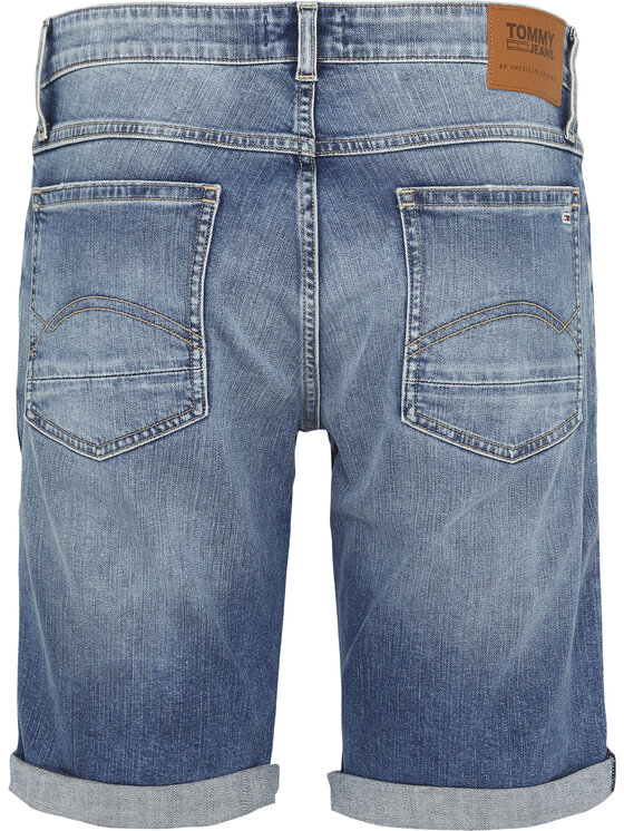 Tommy Jeans Tommy Jeans Jeansshorts Ronne DM0DM07962 Blau Relaxed Fit