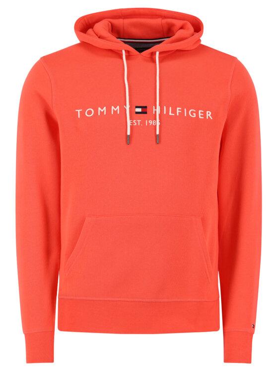 Tommy Hilfiger Tommy Hilfiger Суитшърт Logo MW0MW11599 Оранжев Regular Fit
