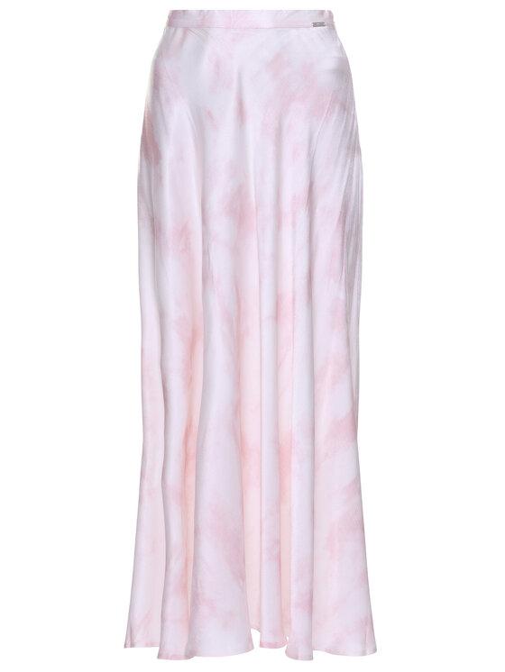 Guess Guess Midi sijonas Arielle W0GD57 WCUY0 Rožinė Regular Fit