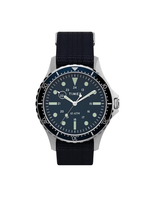Timex Laikrodis Navi Xl TW2T75400 Tamsiai mėlyna