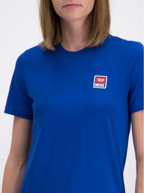 Diesel Diesel T-Shirt T-Sily-ZE 00S2NQ0PATI Modrá Regular Fit