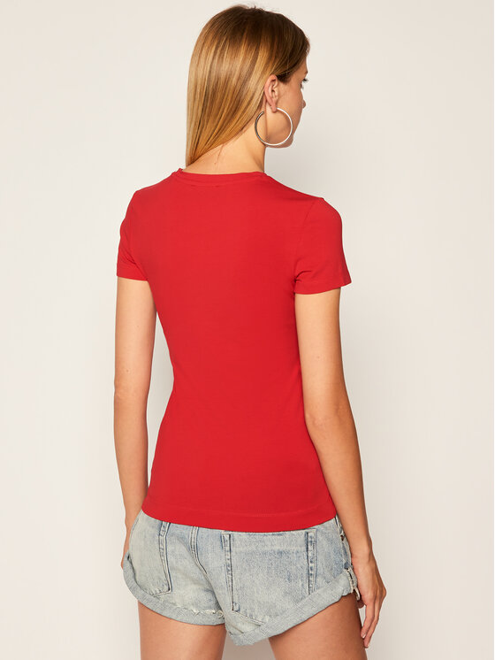 Guess Guess T-shirt W94I20 J1300 Rosso Regular Fit