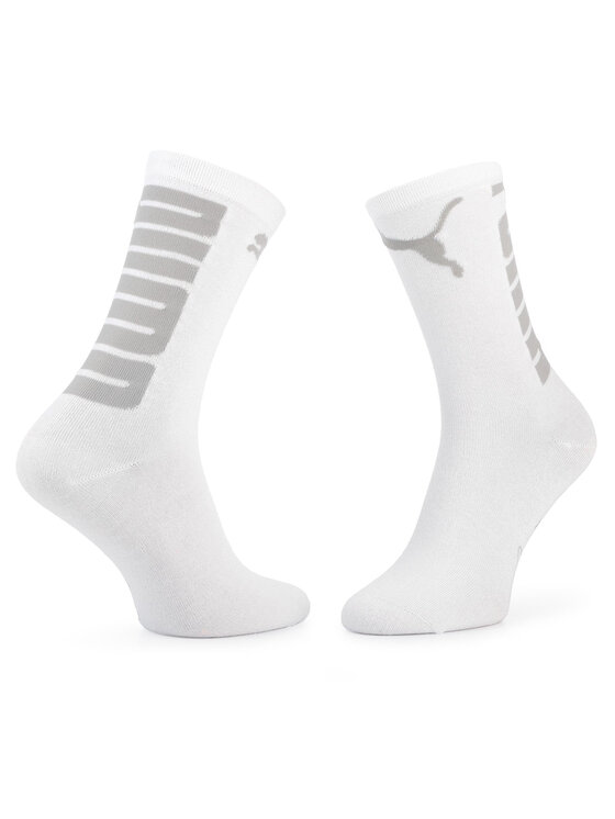 Puma Puma Dámské klasické ponožky 283404001 Bílá