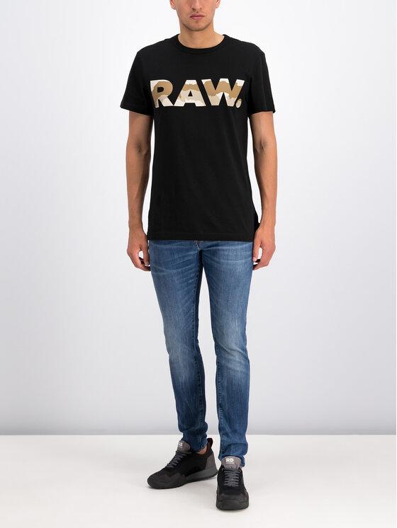 G-Star RAW G-Star RAW T-shirt D15245-336-6484 Nero Regular Fit