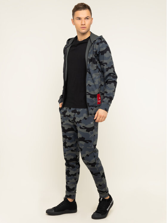 Calvin Klein Performance Calvin Klein Performance Jogginghose Knit Pants 00GMH9P683 Grau Regular Fit