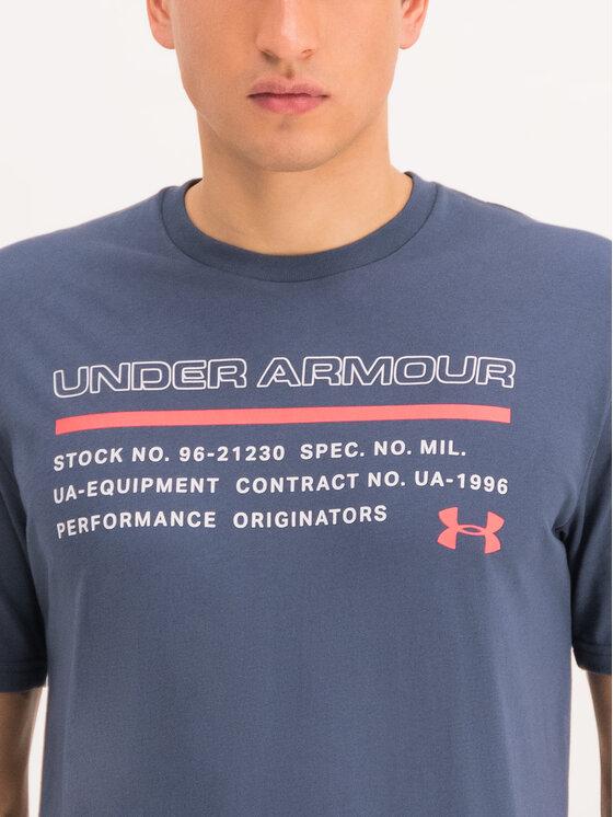 Under Armour Under Armour Póló UA Issued 1344235 Szürke Loose Fit