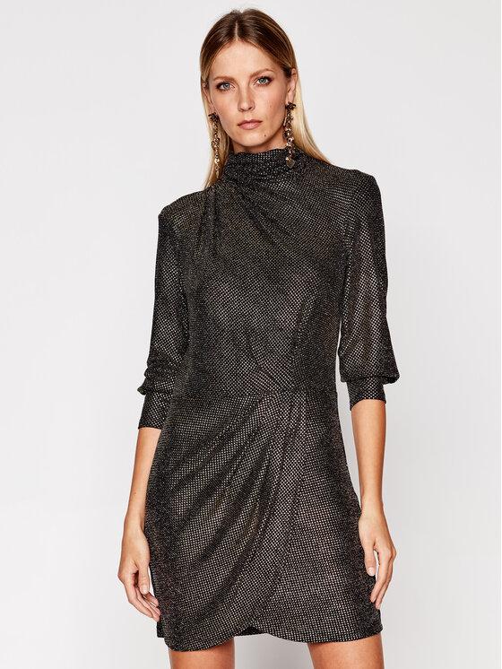 IRO Kokteilinė suknelė Rasile AN595 Auksinė Regular Fit