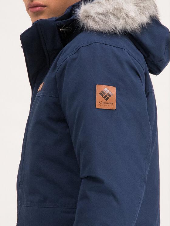 Columbia Columbia Kurtka zimowa Marquam Peak 1798922 Granatowy Regular Fit