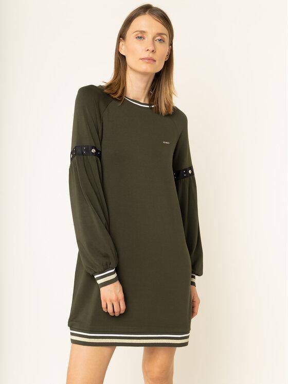 Liu Jo Sport Liu Jo Sport Kleid für den Alltag T69051 F0576 Grün Regular Fit