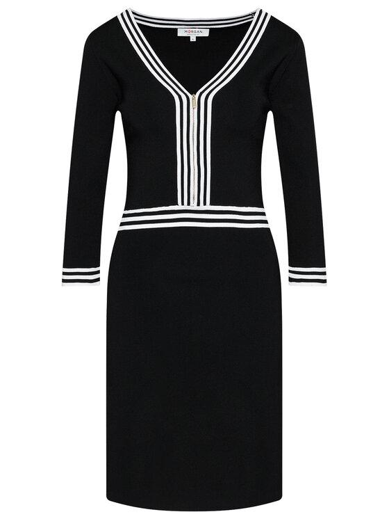 Morgan Morgan Sukienka codzienna 211-RMFATA Czarny Regular Fit