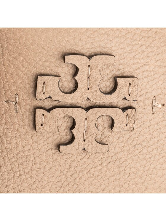 Tory Burch Tory Burch Handtasche McGraw Triple Compartment Satchel 40405 Beige
