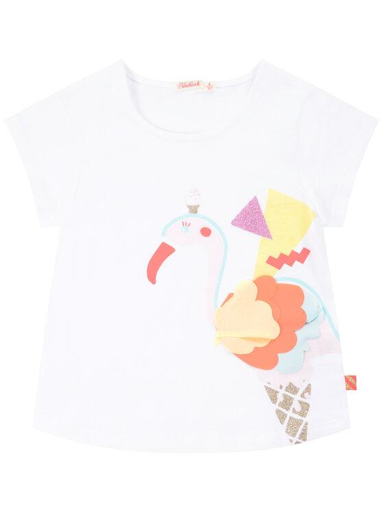 Billieblush Billieblush T-Shirt U15720 Biały Regular Fit