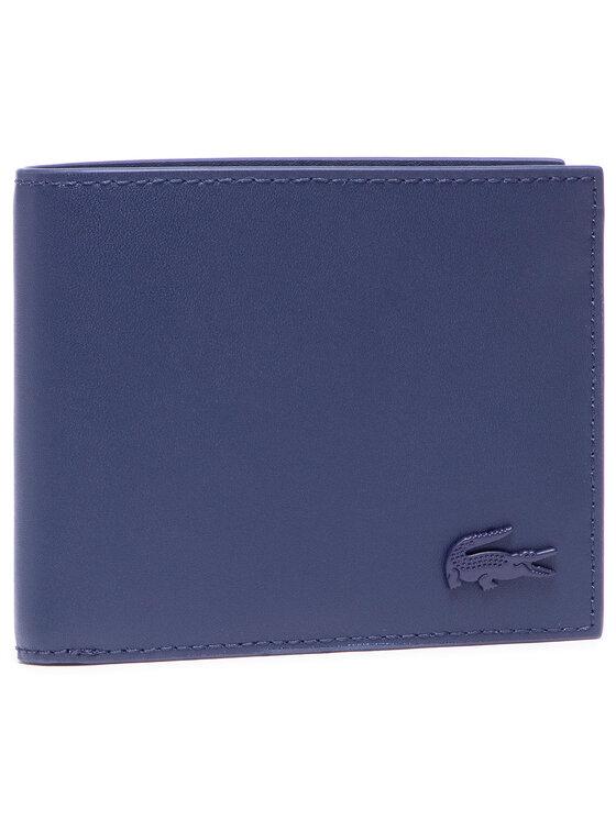 Lacoste Didelė Vyriška Piniginė S Billfold NH3456DD Tamsiai mėlyna