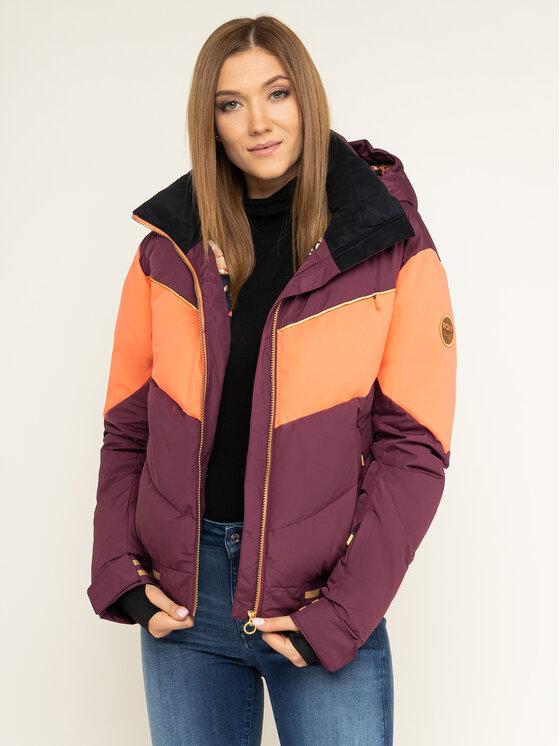 Roxy Roxy Kurtka snowboardowa Taorah Bright Summit ERJTJ03216 Fioletowy Regular Fit