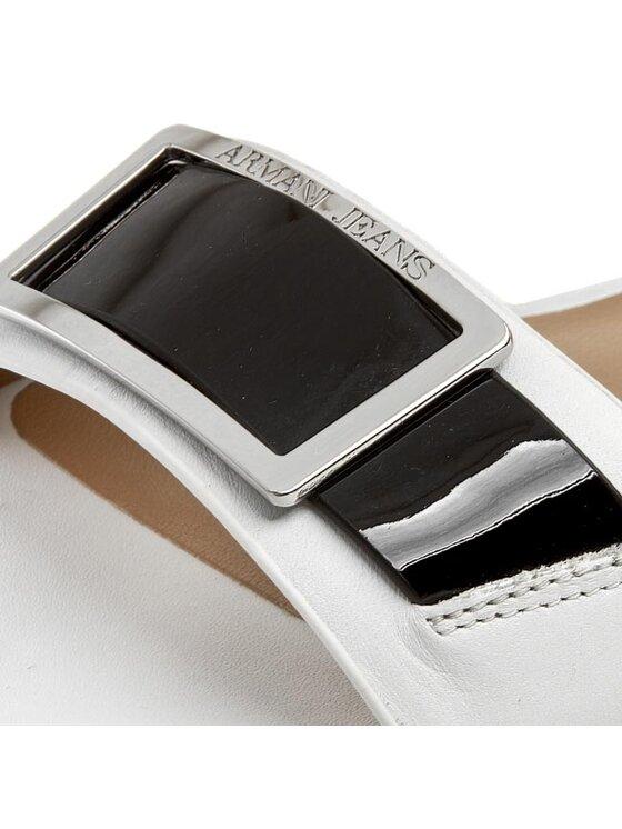 Armani Jeans Armani Jeans Sandały A5544 35 1D Biały