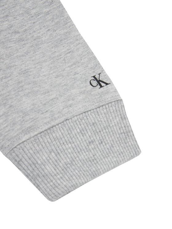 Calvin Klein Jeans Calvin Klein Jeans Mikina Photo Print IB0IB00357 Sivá Regular Fit