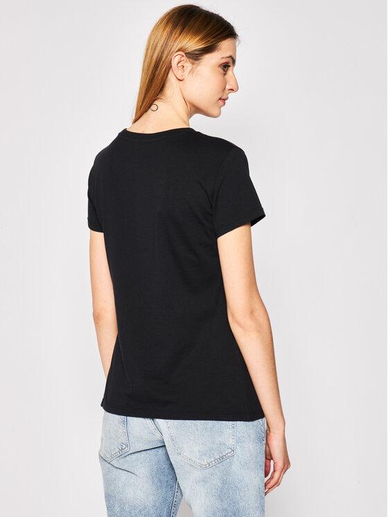 Armani Exchange Armani Exchange T-Shirt 3HYTAB YJ73Z 1200 Czarny Regular Fit