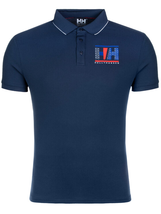 Helly Hansen Helly Hansen Polokošeľa Hp Racing 53012 Tmavomodrá Regular Fit
