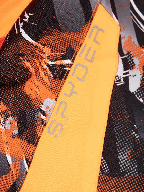 Spyder Spyder Kurtka narciarska Leader 195080 Pomarańczowy Regular Fit