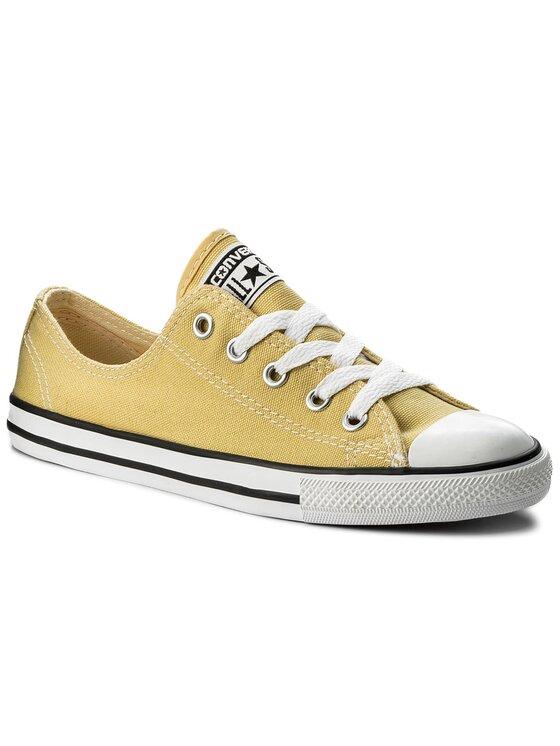 Converse Converse Trampki Ctas Dainty Ox 551513C Żółty