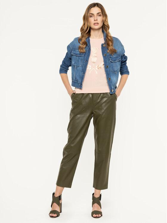Trussardi Jeans Trussardi Jeans Тишърт 56T00224 Розов Slim Fit