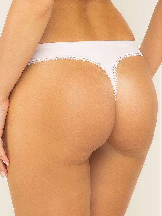 Calvin Klein Underwear Calvin Klein Underwear Tanga 000QF4480E Rózsaszín