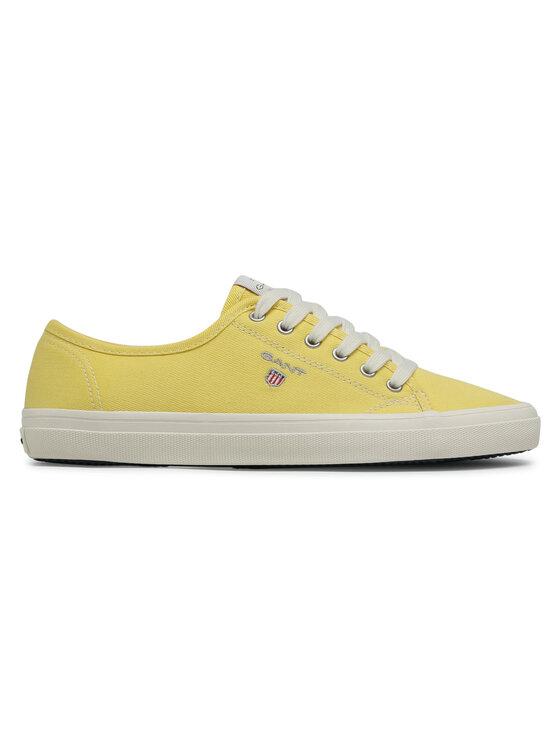 Gant Gant Tenisówki Preptown 22538614 Żółty