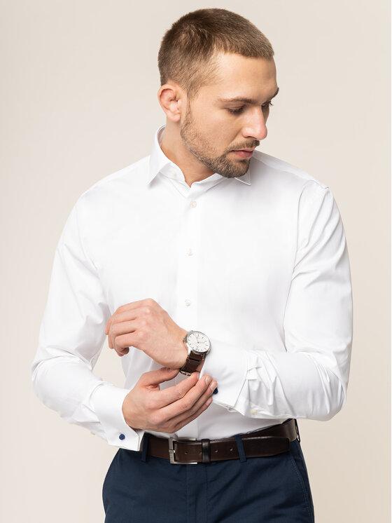 Emanuel Berg Marškiniai MCR5 Balta Modern Fit