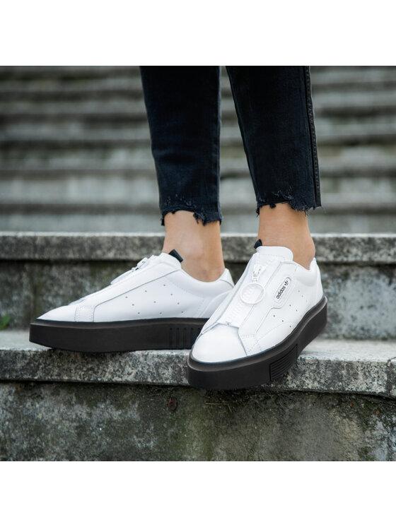 adidas adidas Обувки Sleek Super Z W EF1899 Бял