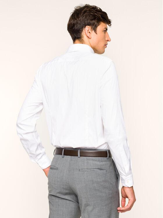 Strellson Strellson Marškiniai 30011662 Balta Slim Fit