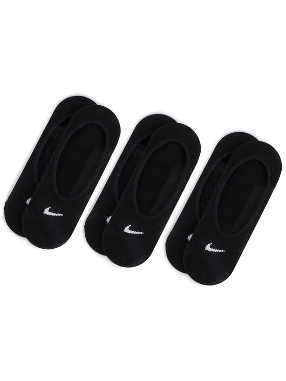 Nike Nike Zestaw 3 par stopek damskich SX4863 010 Czarny