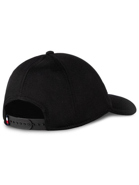 Tommy Hilfiger Tommy Hilfiger Καπέλο Jockey Bold Hilfiger Cap AM0AM04908 Μαύρο