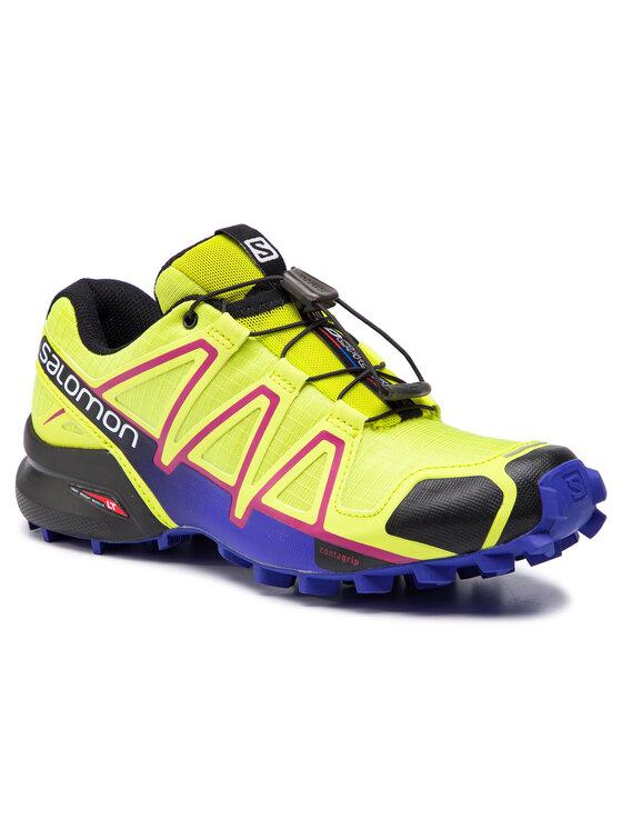 Salomon Salomon Παπούτσια Speedcross 4 W 391859 21 V0 Κίτρινο