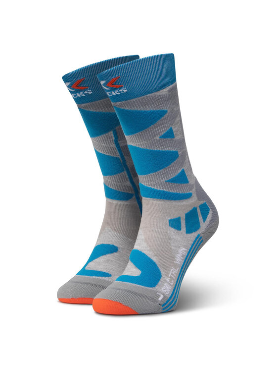 X-Socks Ilgos Moteriškos Kojinės Ski Control 4.0 XSSSKCW19W Pilka