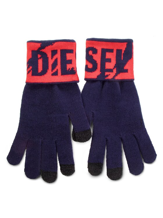 Diesel Diesel Mănuși pentru Bărbați K-Screex Glove 00SJ4V 0NABQ 8AT Bleumarin