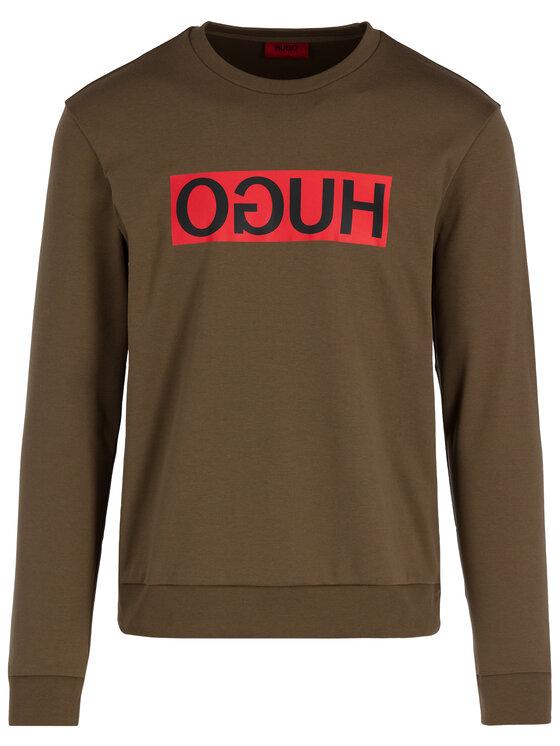 Hugo Hugo Sweatshirt 50414126 Grün Regular Fit