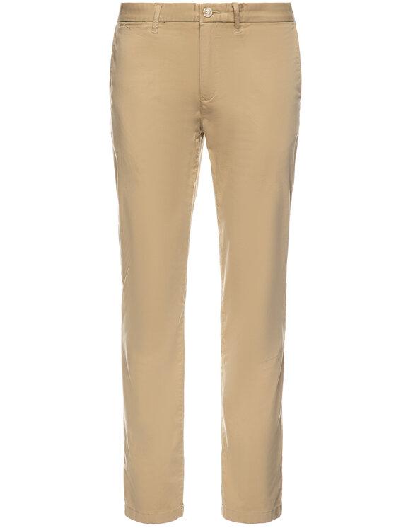 Tommy Hilfiger Tommy Hilfiger Pantaloni din material MW0MW10888 Bej Regular Fit
