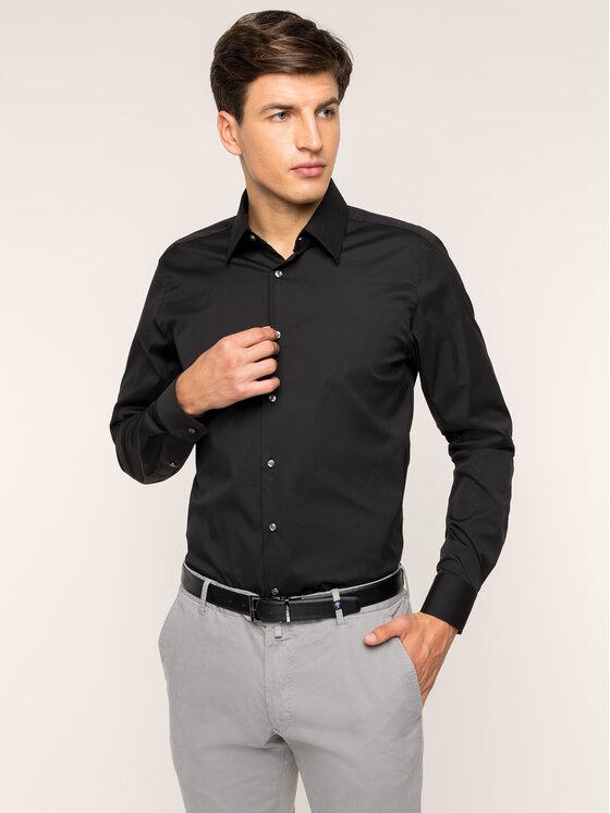 Joop! Joop! Риза 30011827 Черен Slim Fit